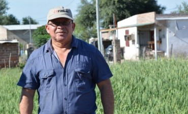 """ELEODORO QUIRÓZ: """"CONVENIAMOS CON VIALIDAD PROVINCIAL PARA FORTALECER EL TRABAJO DE ARREGLO DE CALLES"""""""