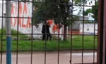 POLICIA ACLARA SOBRE LA DENTENCION QUE  CAPTARON LOS VECINOS