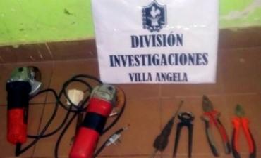 INVESTIGACIONES RECUPERO HERRAMIENTAS SUTRAIDA DE COMPARSA BAHIA