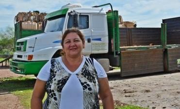 """VIVIANA PONCE DE LEÓN: """"CON LA VENTA DE CARTÓN CREEMOS QUE VAMOS A LLEGAR A 19 TONELADAS"""