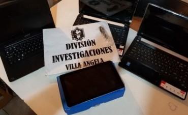 VILLA ÁNGELA: INVESTIGACIONES DETUVO A UNA PERSONA Y RECUPERAN LA TOTALIDAD DE ELEMENTOS SUSTRAÍDOS