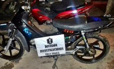 UNA MOTOGUADAÑA Y UNA MOTOCICLETA FUERON RECUPERADAS
