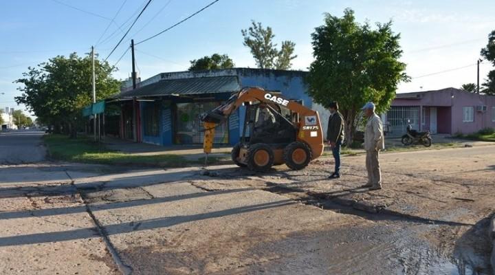 EL MUNICIPIO TRABAJA INTENSAMENTE DESDE LAS SECRETARÍAS DE OBRAS PÚBLICAS Y SERVICIOS PÚBLICOS