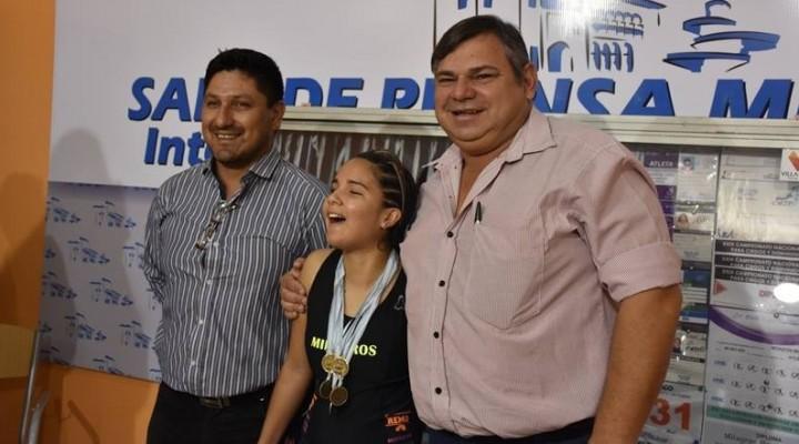 EL MUNICIPIO ACOMPAÑA A LA CAMPEONA NACIONAL DE ATLETISMO ADAPTADO
