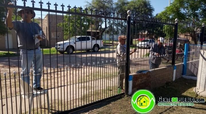 LOS HÉROES DE MALVINAS ACONDICIONAN SU ESPACIO PARA ESTE 2 DE ABRIL