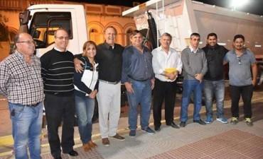 PAPP RECIBIÓ LA BARREDORA Y EL PRIMER CAMIÓN BATEA EN 107 AÑOS DE HISTORIA DEL MUNICIPIO