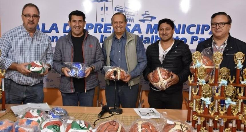 LANZAMIENTO DE LOS JUEGOS EVITA LOCALES Y PROMOCIÓN DEL CAMPEONATO DE MOUNTAIN BIKE
