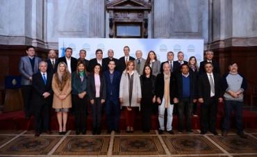 TRABALÓN PARTICIPÓ EN EL PRIMER PARLAMENTO FEDERAL DEL CLIMA