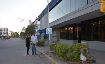 EL MUNICIPIO DE VILLA ÁNGELA PONE EN PRÁCTICA ORDENANZA DE SEÑALIZACIÓN VEHICULAR PARA PERSONAS CON DISCAPACIDAD