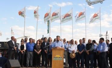 DIPUTADOS PARTICIPARON DE LA APERTURA DE LA AGRO NEA 2017