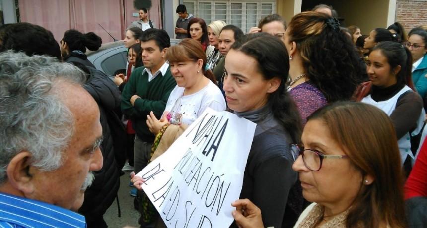 AURELIO PARTICIPO EN VILLA ÁNGELA DE LA MARCHA CONTRA LOS CRES