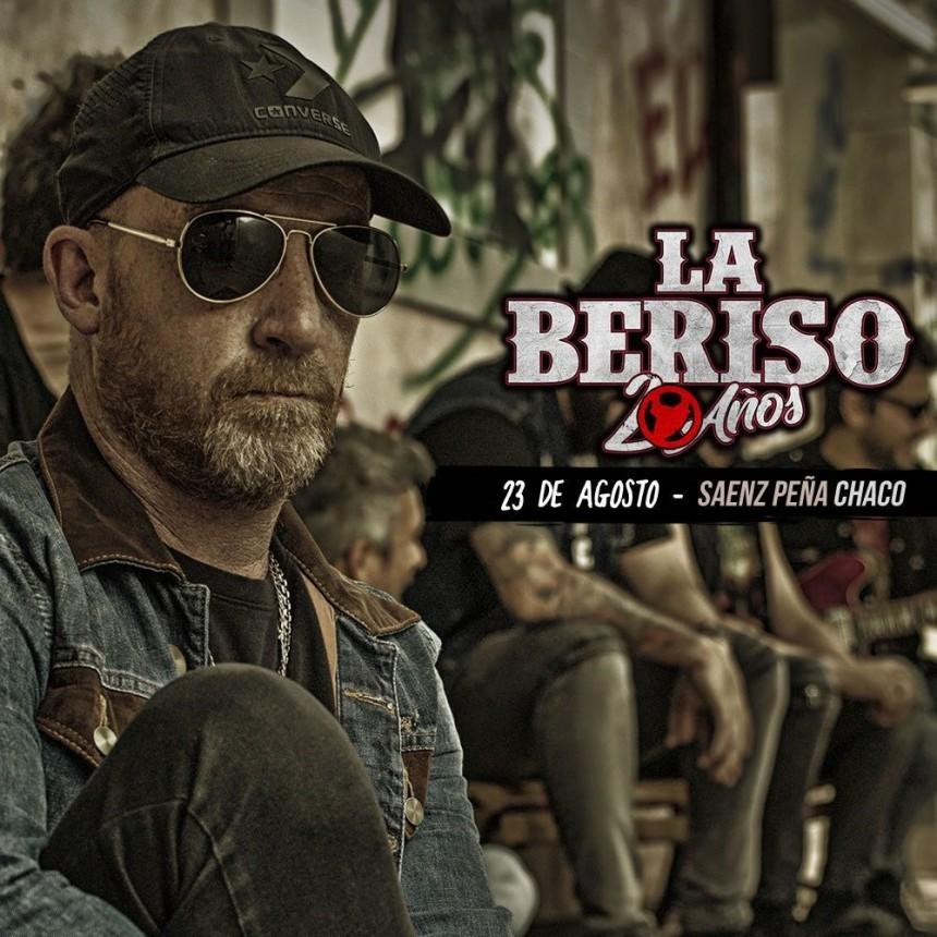 BASTA DE RUMORES, #LABERISO20AÑOS ESTE 23 DE AGOSTO EN CHACO