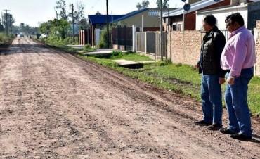 EL INTENDENTE ADALBERTO PAPP SUPERVISÓ EL TRABAJO DE SERVICIOS PÚBLICOS EN LOTE 20