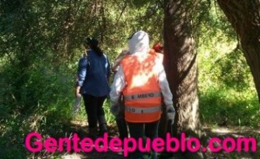 BOMBEROS VOLUNTARIOS COLABORO EN LA BÚSQUEDA DE MAIRA BENÍTEZ