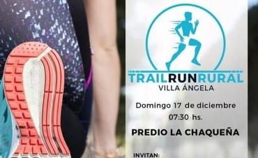 SE REPROGRAMO PARA EL 17 DE DICIEMBRE EL TRAIL RUN RURAL