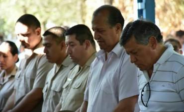 EL GOBERNADOR PEPPO Y EL INTENDENTE PAPP PARTICIPARON DE LA MISA CENTRAL EN LA VIRGEN DE LA LAGUNA