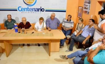 LA COMISIÓN DE EMERGENCIA REALIZO UN RELEVAMIENTO DE LOS PRODUCTORES AFECTADOS POR EL AGUA