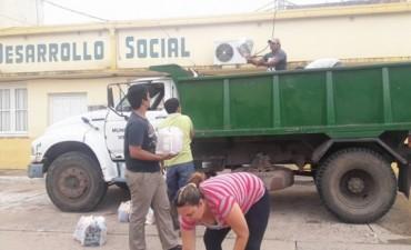 DESARROLLO SOCIAL TAMBIEN ASISTE A LAS FAMILIAS AFECTADAS POR EL AGUA