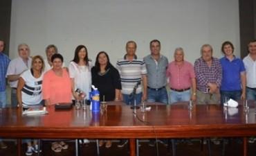 DANIEL CAPITANICH Y ADALBERTO PAPP RECIBIERON A INTENDENTES DE LA ZONA EN EL MARCO DE LA EMERGENCIA HÍDRICA