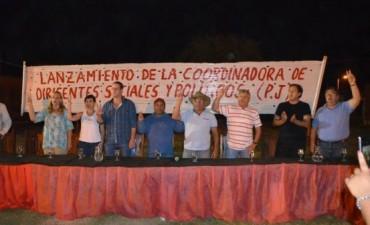 LANZAMIENTO DE LA COORDINADORA DE DIRIGENTES SOCIALES Y POLÍTICOS PJ