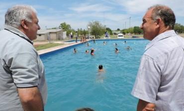 CON 150 NIÑOS PARTICIPANDO SE REALIZA UN NUEVA COLONIA DE VACACIONES EN SAN BERNARDO