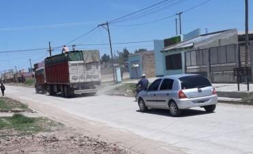 VECINO RECLAMAN POR EL EXCESO DE VELOCIDAD DE TRANSPORTES POR CALLE MATURÍN