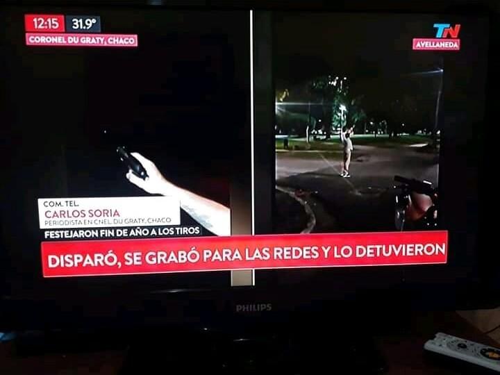 """EL """"TIRADOR"""" DE DUGRATY FUE NOTICIA NACIONAL"""