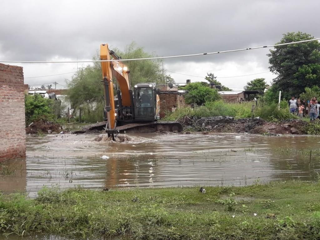 AMPLIARON EL CANAL Y SE ENCONTRARON CON HELADERA, COCINAS, LAVARROPAS, TEJIDO Y MUCHA BASURA MAS