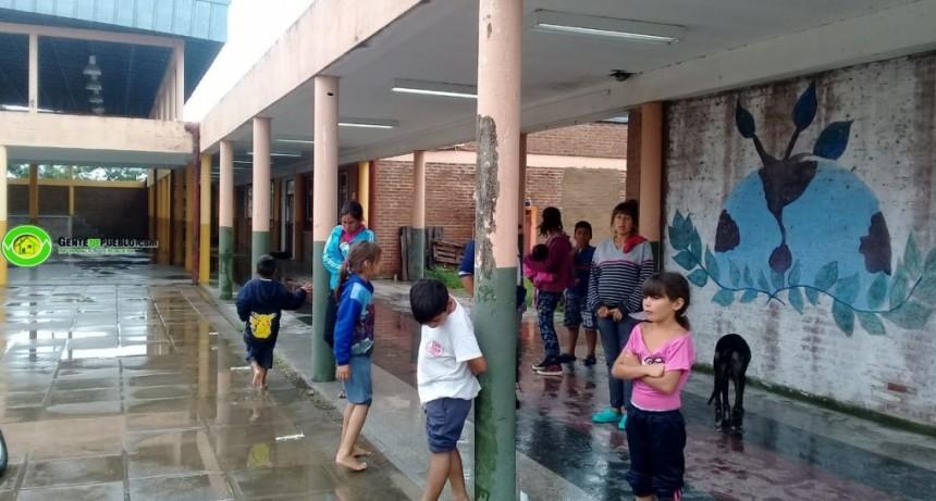 HAY 49 EVACUADOS EN LA CIUDAD