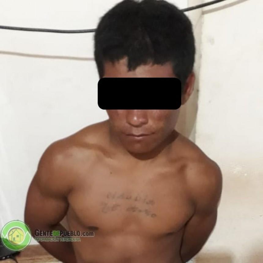 """INVESTIGACIONES ATRAPO A """"TYSON"""" QUE LE ARREBATÓ EL BOLSO A UNA MUJER"""
