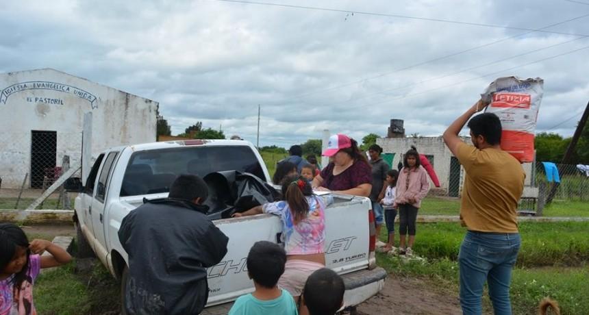 EL MUNICIPIO CONTINÚA ASISTENCIA A EVACUADOS A TRAVÉS DE DESARROLLO SOCIAL