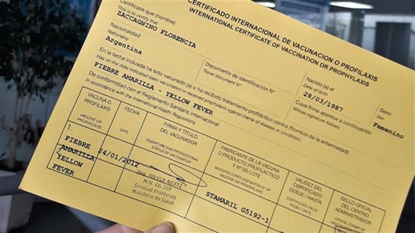 VACUNAS CONTRA FIEBRE AMARILLA Y SARAMPIÓN: ¿QUÉ HACER SI NO ENCONTRÁS LOS COMPROBANTES?