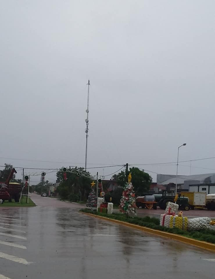 SUPERAN LOS 80 MILÍMETROS LA LLUVIA REGISTRADA EN SAN BERNARDO