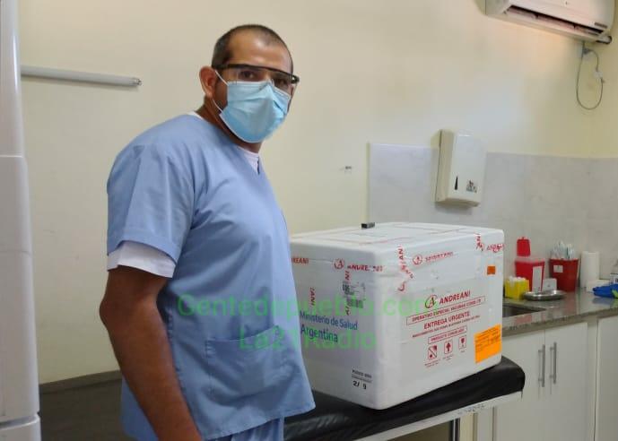 LAS VACUNAS SPUTINK V YA SE ENCUENTRAN EN EL HOSPITAL SALVADOR MAZZA