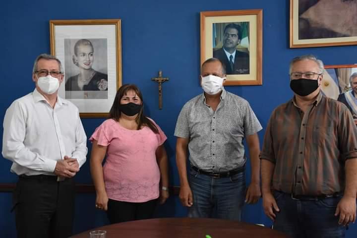 EL INTENDENTE PAPP FOMENTARÁ LA ACTIVIDAD LABORAL DE LOS JÓVENES JUNTO AL MINISTERIO DE TRABAJO