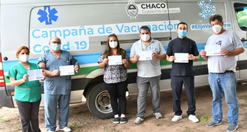 CHACO AVANZÓ CON LA APLICACIÓN DE VACUNAS CONTRA COVID-19 EN 22 LOCALIDADES DEL INTERIOR