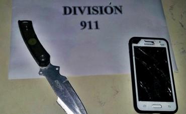 PERSONAL DEL 911 ATRAPO A UN LADRÓN QUE HABÍA ROBADO A UNA MENOR