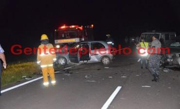 ACCIDENTE FATAL EN RUTA 95 CAMINO A CORONEL DU GRATY