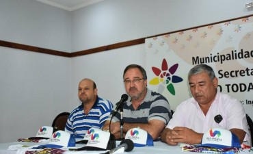 COMUNICOR PRESENTÓ AL COMISARIO DE CORSO DE LOS SÚPER CARNAVALES 2018