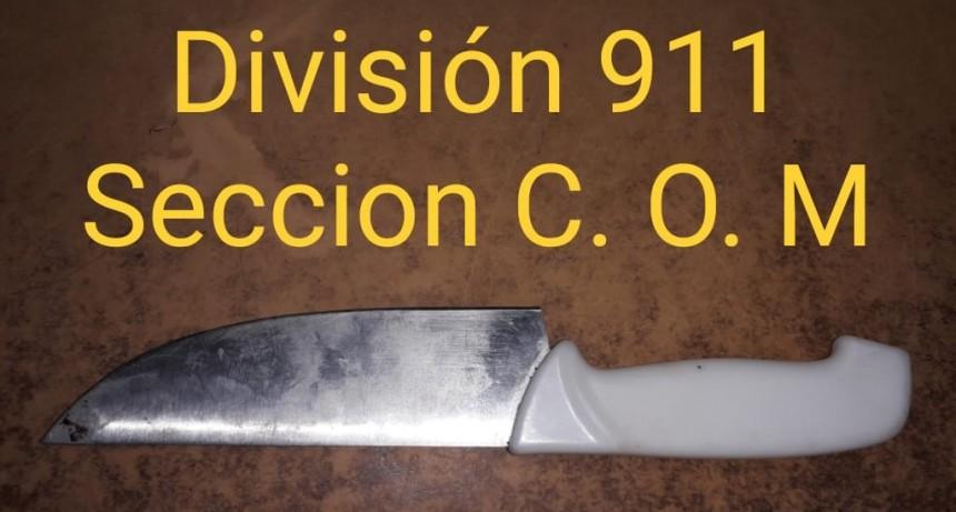 PERSONAL DEL C.O.M DETUVO A MENORES QUE INTENTARON ROBAR EN UN DOMICILIO
