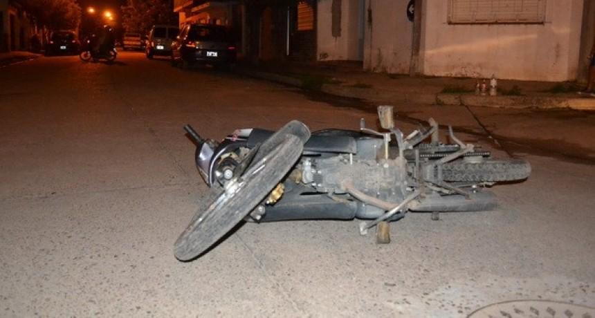 FALLECE BEBE DE DOS AÑOS DESPUÉS DE  CAER DE UNA MOTOCICLETA