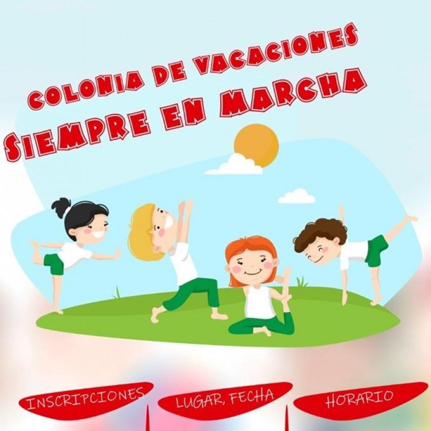 """CONTINÚA LA COLONIA DE VACACIONES MUNICIPAL """"SIEMPRE EN MARCHA"""""""