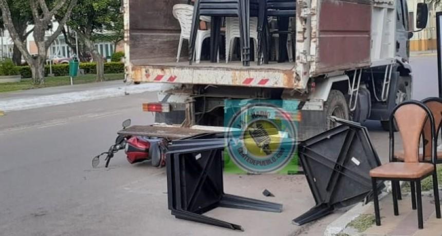 FALLECIÓ EL MOTOCICLISTA QUE PROTAGONIZO EL ACCIDENTE ESTA TARDE