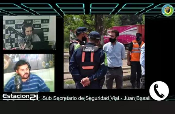 """JUAN BASAIL: """"TODO ES CON EL FIN DE PROTEGERNOS"""""""