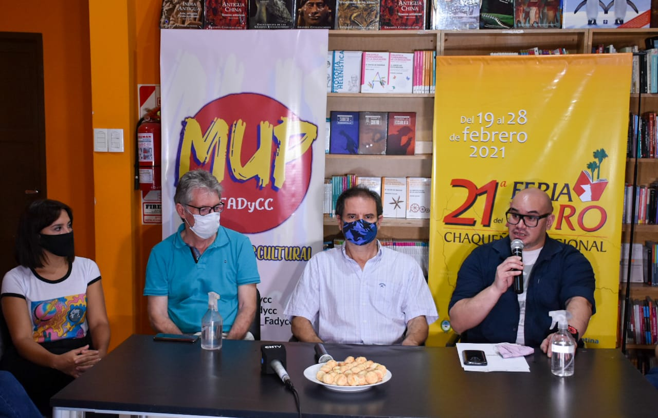 Respaldo legislativo a la 21° Feria del Libro Chaqueño y Regional