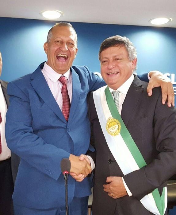 EL INTENDENTE PAPP ACOMPAÑO A DOMINGO PEPPO EN EL INICIO DE SESIONES EN DIPUTADOS