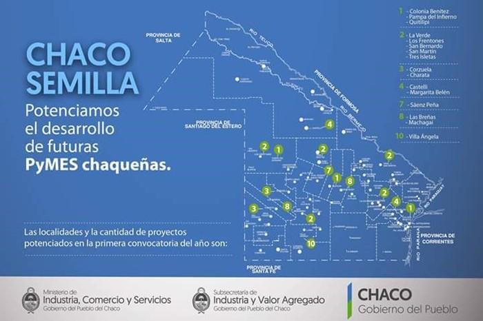 CARLOS JIMÉNEZ ANUNCIÓ EL LANZAMIENTO DEL PROGRAMA CHACO SEMILLAS