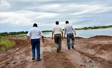EL MUNICIPIO COLABORA CON SAMEEP PARA AUMENTAR LA PROVISIÓN DE AGUA DEL RESERVORIO