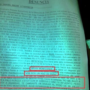 AMENZAN A PERIODISTA EN PLENO CENTRO DE LA CIUDAD