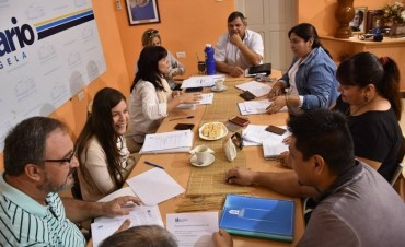 EL MUNICIPIO COORDINA TRABAJOS CON UNICEF
